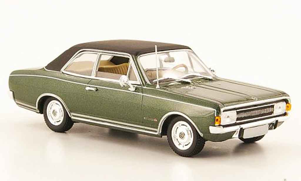 Opel Commodore A 1/43 Minichamps verte 1968 miniature