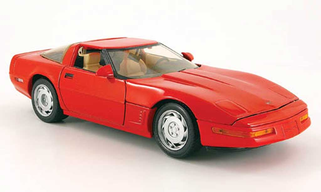 Chevrolet Corvette ZR1 1/18 Maisto coupe red diecast model cars