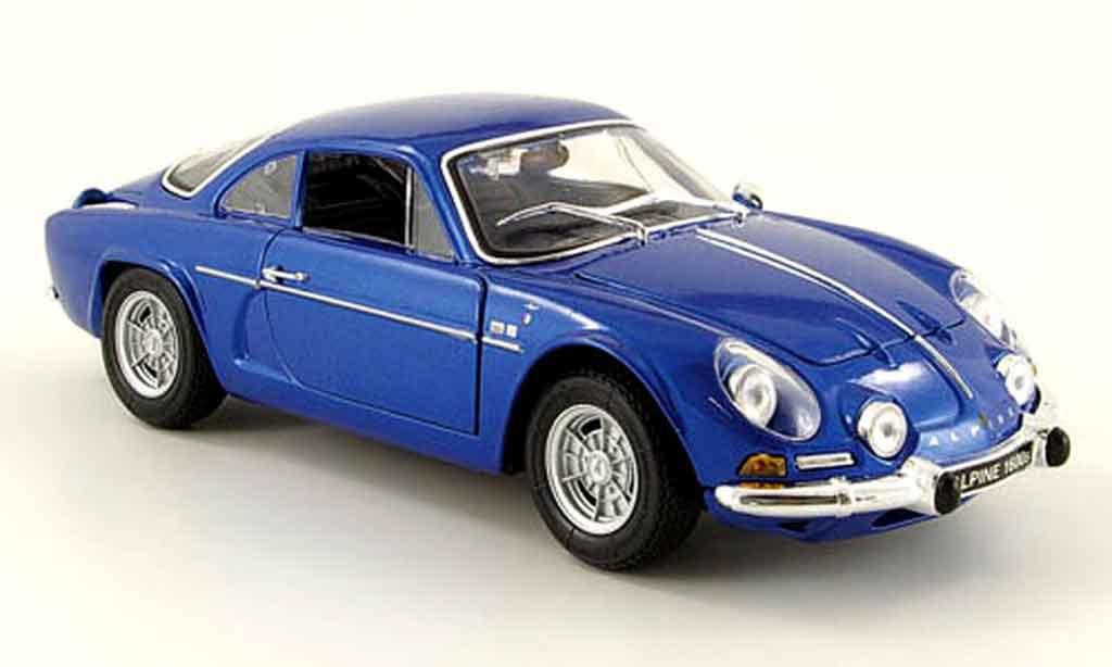 Alpine A110 1/18 Maisto 1600 s bleu 1971 diecast model cars