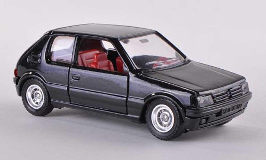 Peugeot 205 GTI 1/43 Solido noire  1984 miniature
