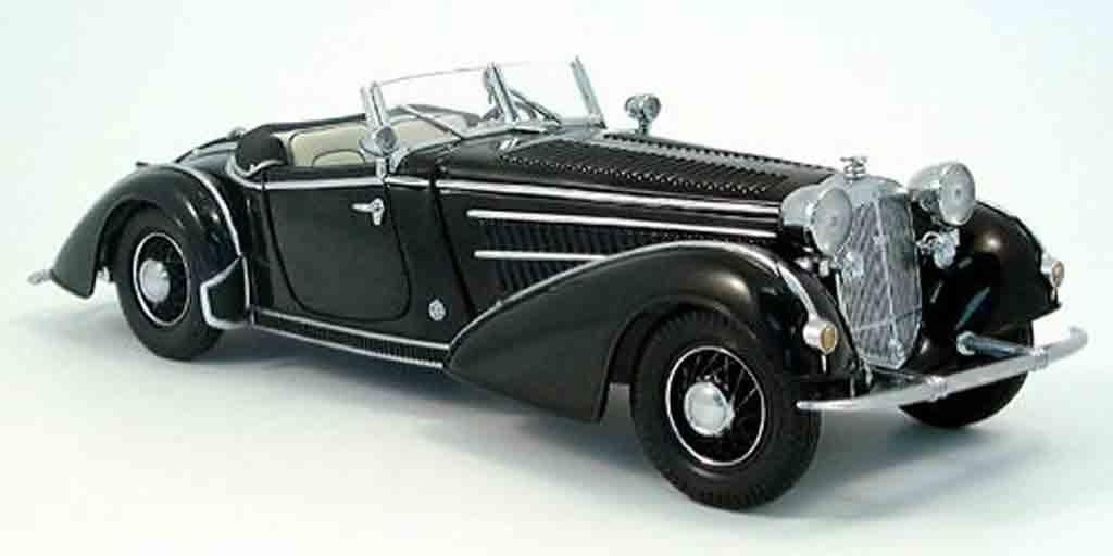 Horch 855 1/18 Sun Star special roadster noir 1939 miniature
