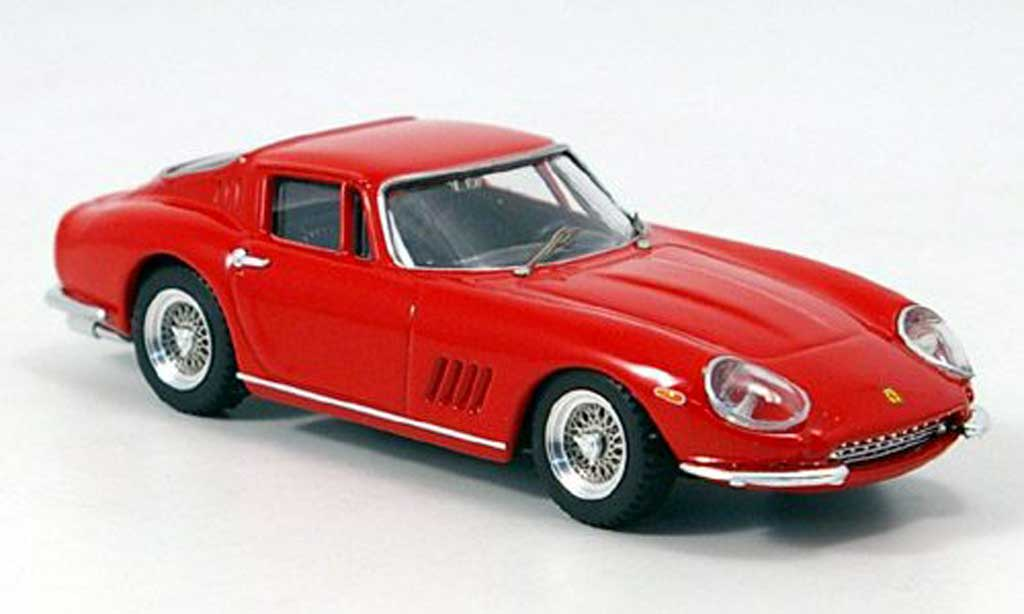 Ferrari 275 1/43 Best red GTB/4 diecast model cars