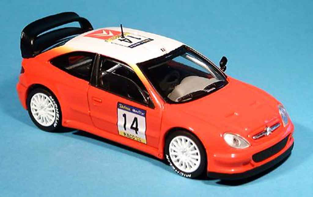 Citroen Xsara WRC 2001 1/43 Solido t4 miniature