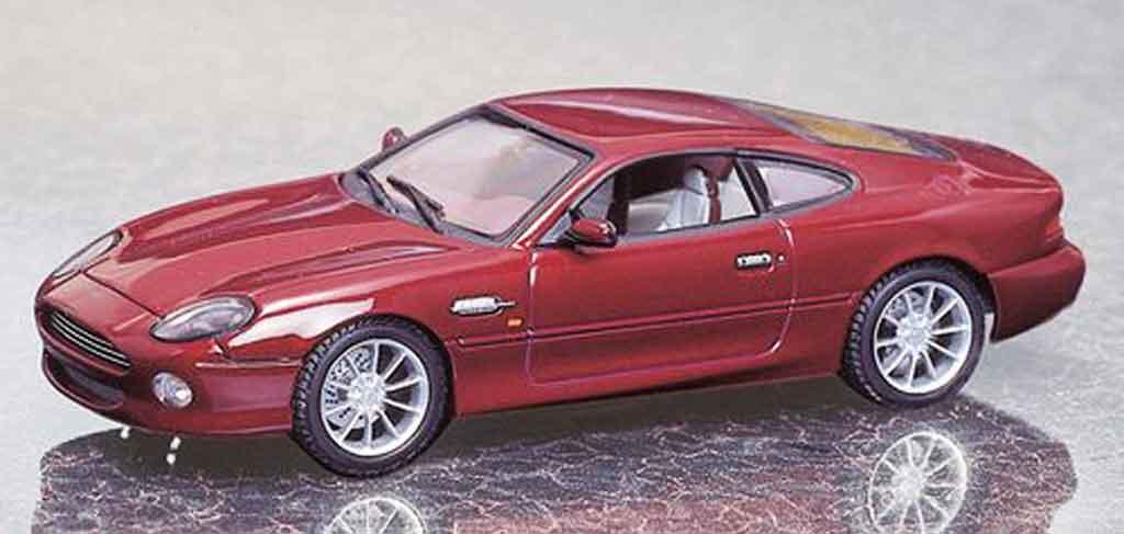 Aston Martin DB7 1/43 Autoart vantage rouge miniature