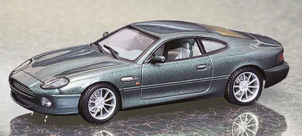 Aston Martin DB7 1/43 Autoart vantage grun miniature