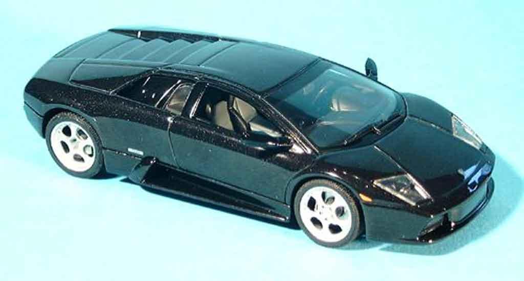 Lamborghini Murcielago 1/43 Autoart noire 2001 miniature