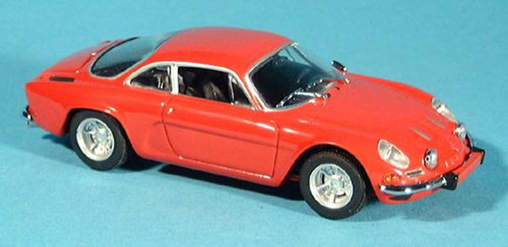 Alpine A110 1/43 Minichamps A 110 red 1963 diecast