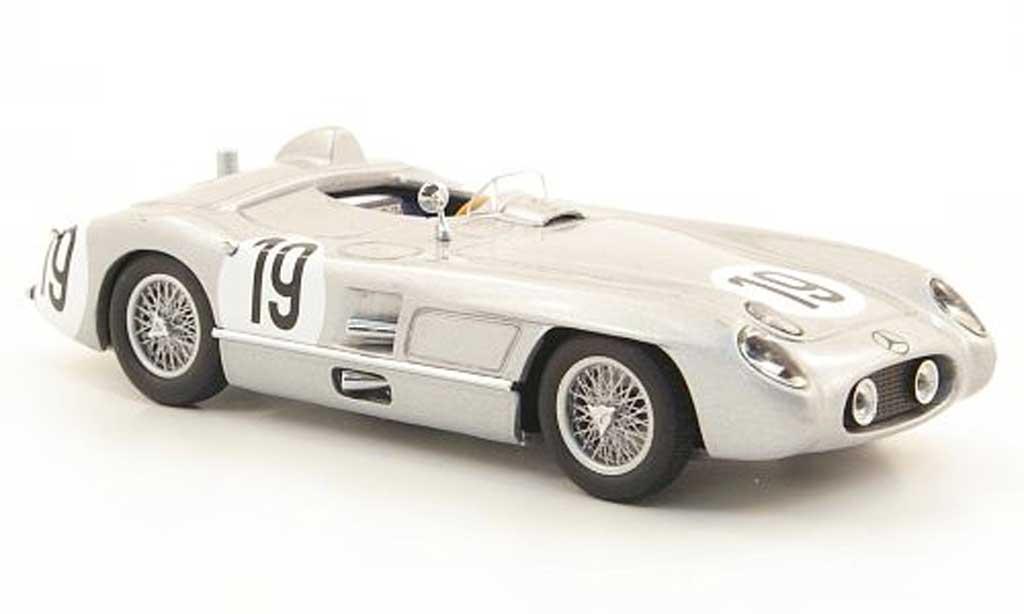 Mercedes 300 SLR 1/43 Minichamps No.19 J.M. Fangio 24h Le Mans 1955 miniature