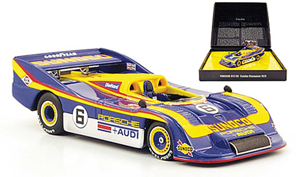 Porsche 917 1973 1/43 Minichamps 30 No.6 Sunoco Team Penske Racing Can-Am Saison miniature