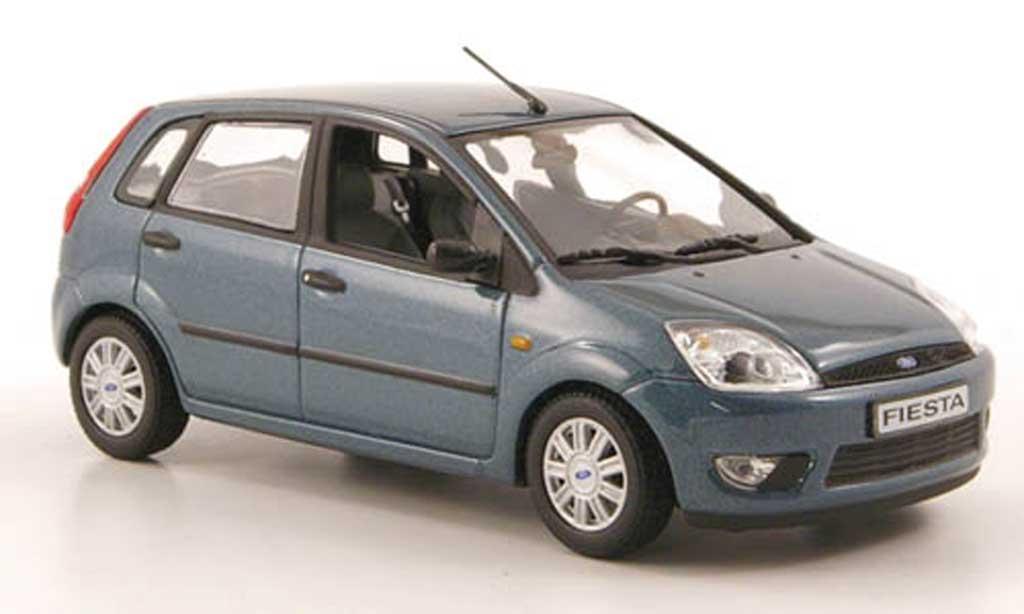 Ford Fiesta 2002 1/43 Minichamps petrol 5-portes miniature