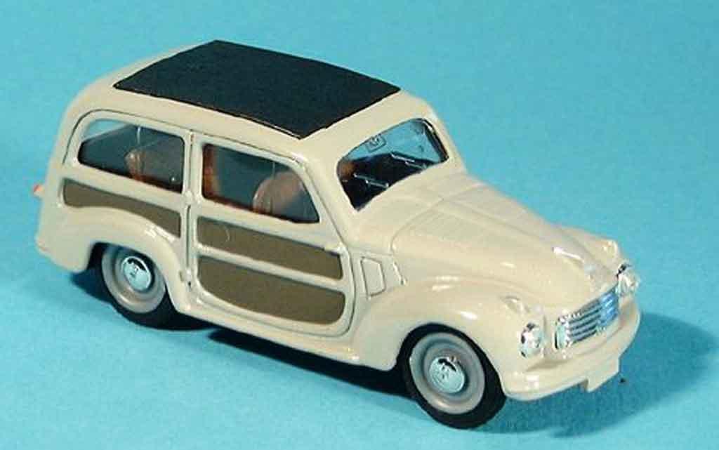 Fiat 500 1/43 Brumm C Belvedere grey 1951 diecast model cars
