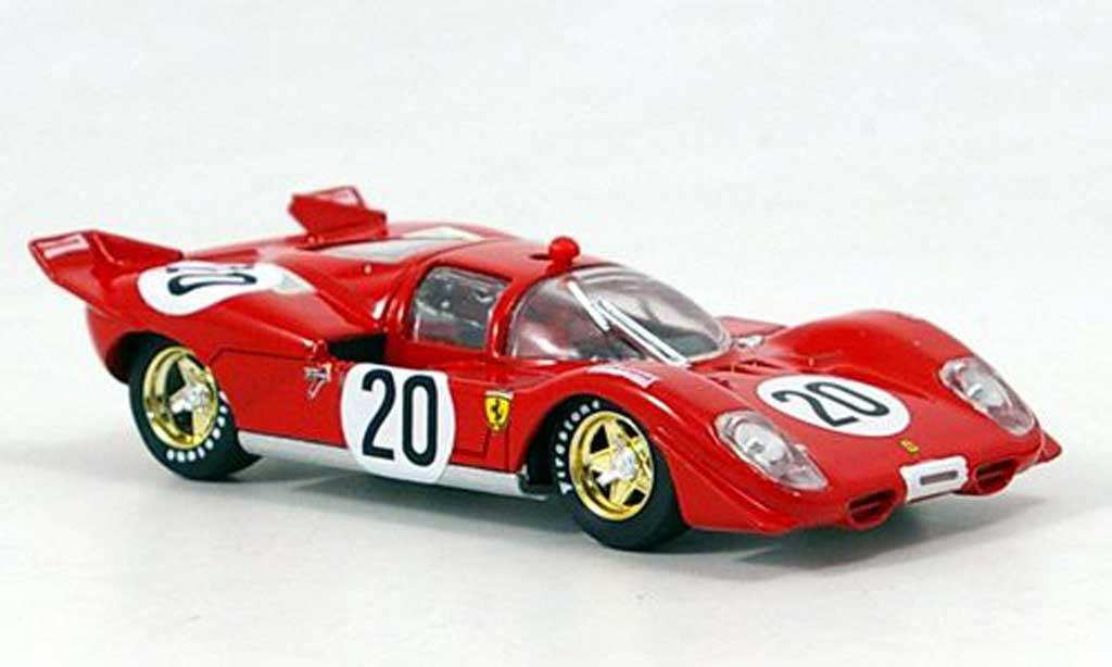 Ferrari 512 S 1/43 Brumm No.20 J. Ickx GP Belgien/pa 1970 modellino in miniatura