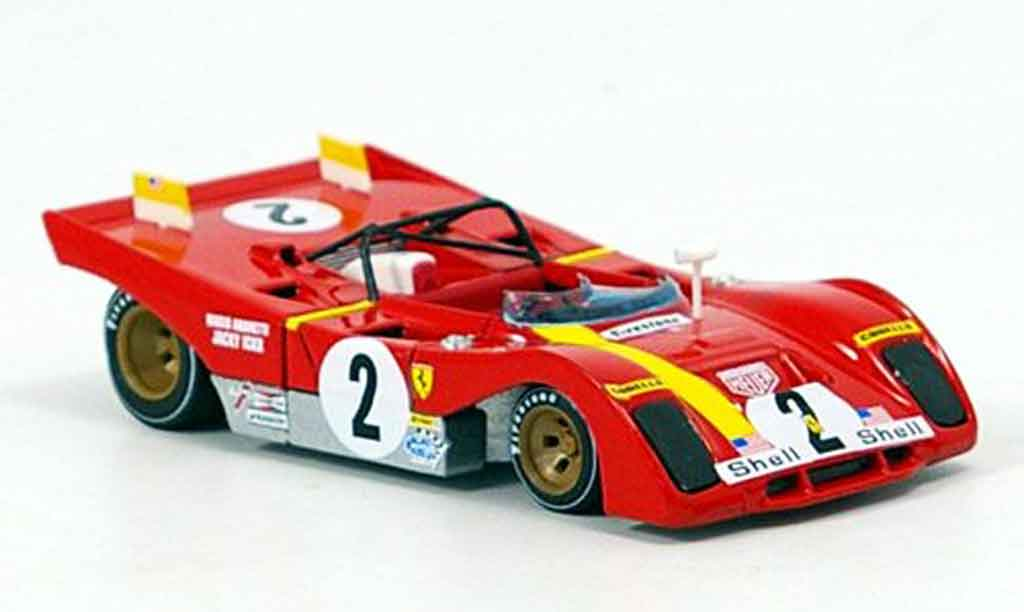 Ferrari 312 PB 1/43 Brumm no.2 ickx andretti 6 std. daytona 1972 miniature