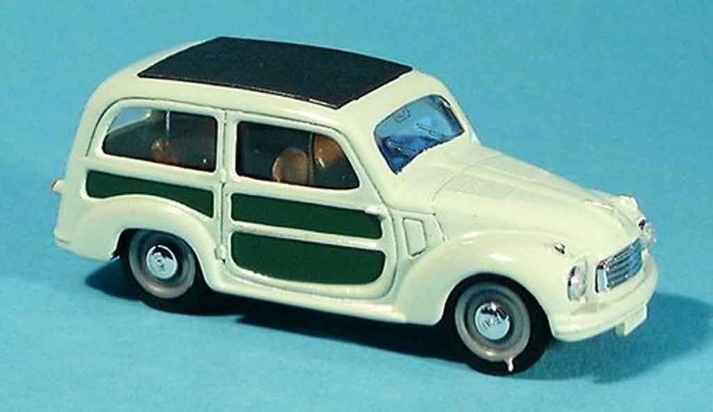 Fiat 500 1/43 Brumm c Belvedere grun 1951 diecast model cars