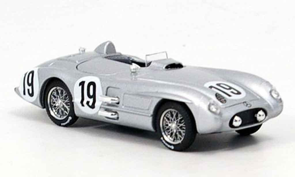 Mercedes 300 SLR 1/43 Brumm No.19 Le Mans 1955 miniature