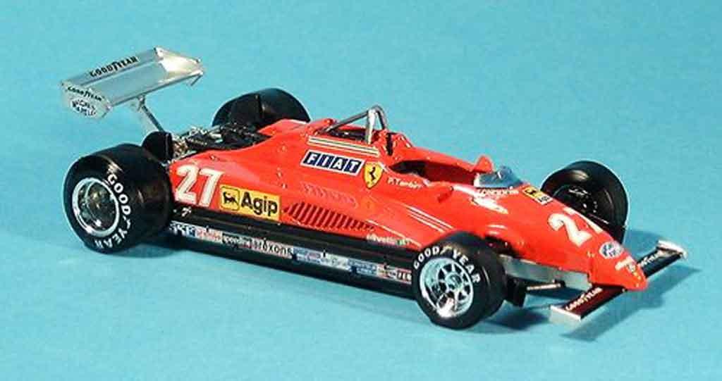 Ferrari 126 1982 1/43 Brumm C2 no.27 p.tambay gp monza miniature