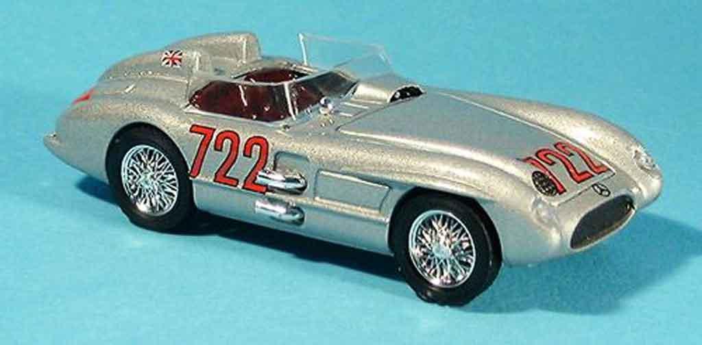 Mercedes 300 SLR 1/43 Brumm SLR No.722 S.Moss Mille Miglia 1955