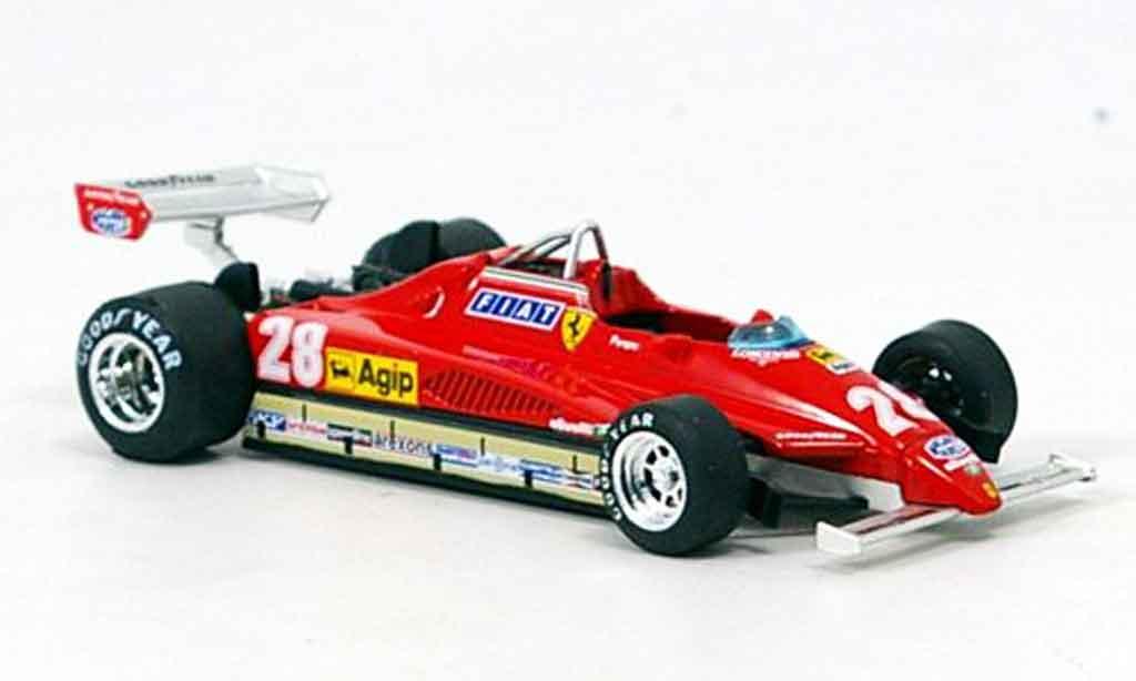 Ferrari 126 1982 1/43 Brumm C2 no.28 d.pironi gp san marino miniature