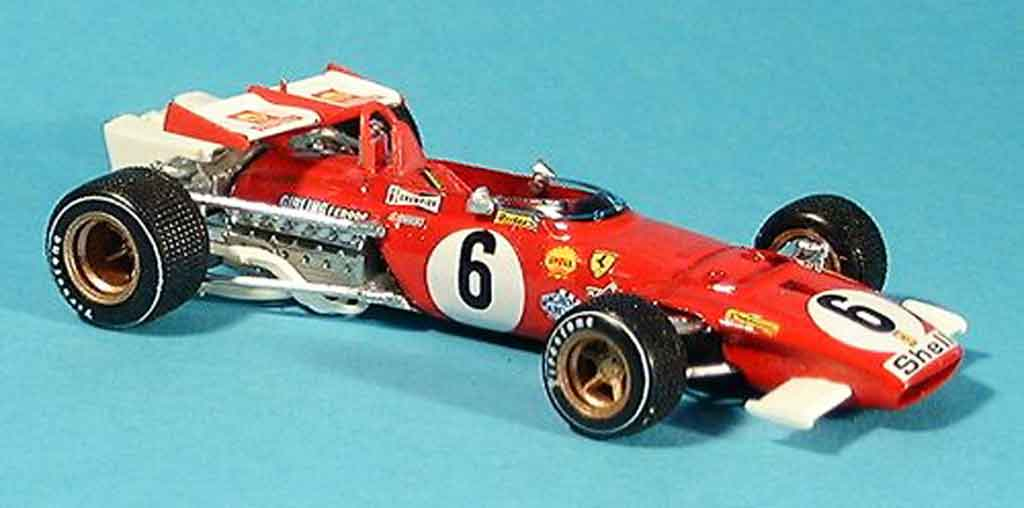 Ferrari 312 B 1/43 Brumm b no.6 i.giunti gp italien 1970 diecast