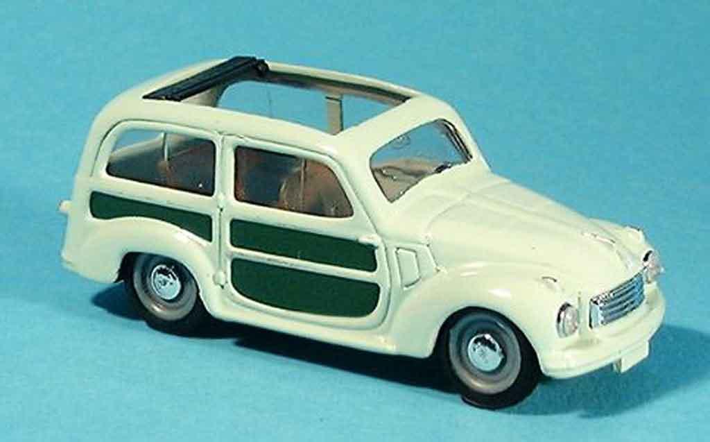 Fiat 500 1/43 Brumm C Kombi grun offen diecast model cars