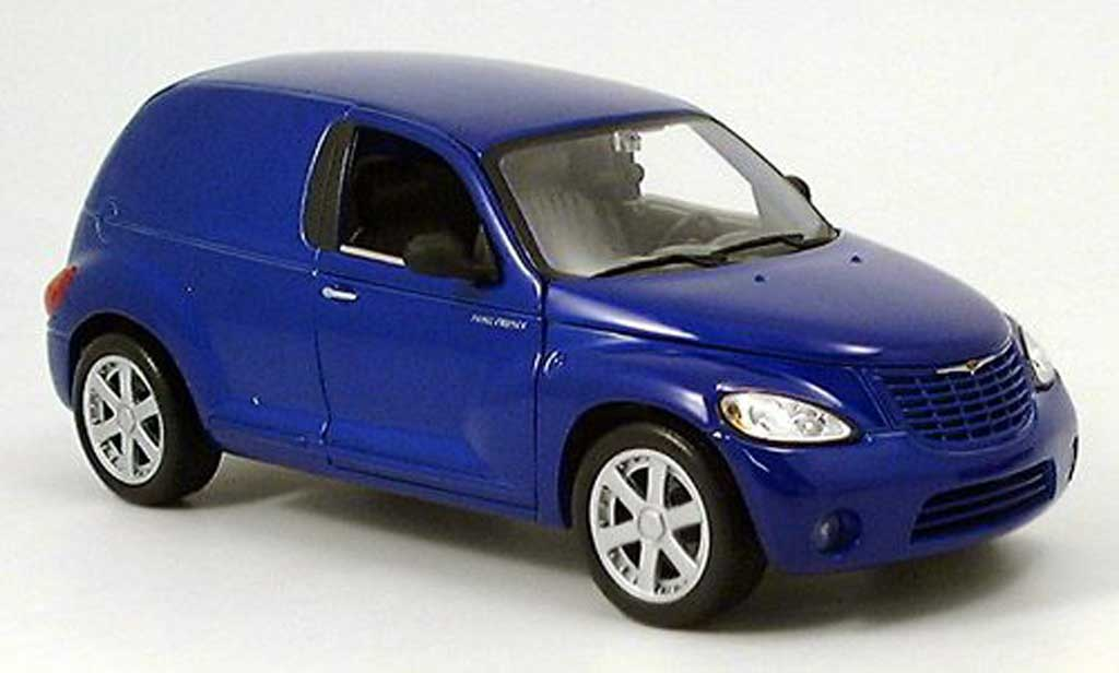 Chrysler PT Cruiser 1/18 Maisto panel bleu miniature