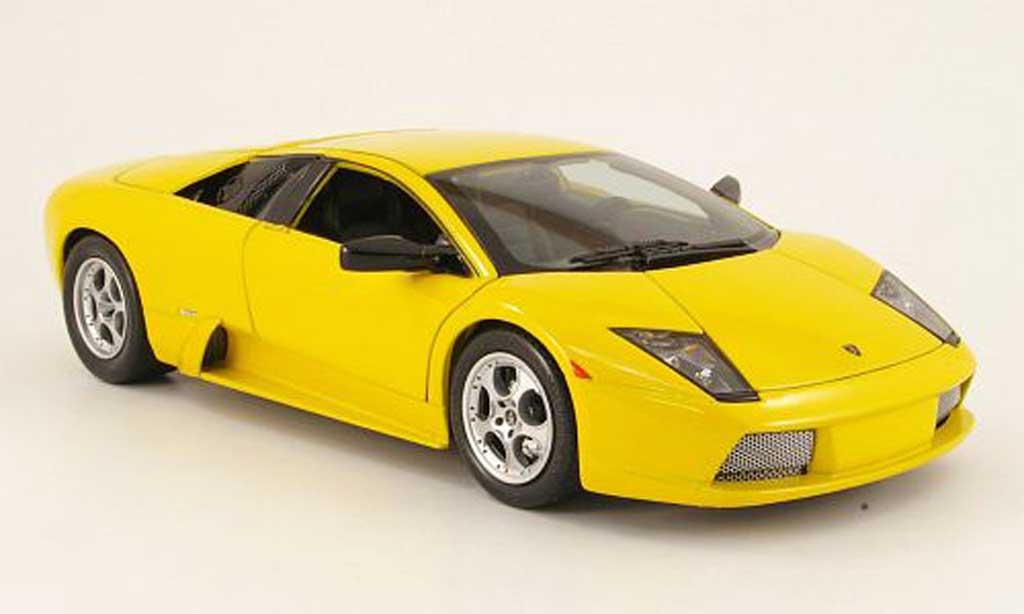 Lamborghini Murcielago 1/18 Maisto yellow 2002 diecast
