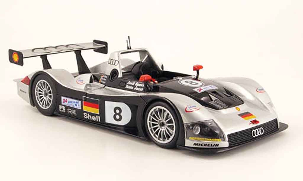 Audi R8 Le Mans 1/18 Maisto r rr no.8 team joest 1999 diecast model cars