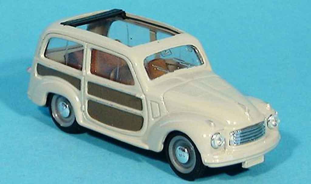 Fiat 500 1/43 Brumm C Belvedere grey offen 1951 diecast model cars
