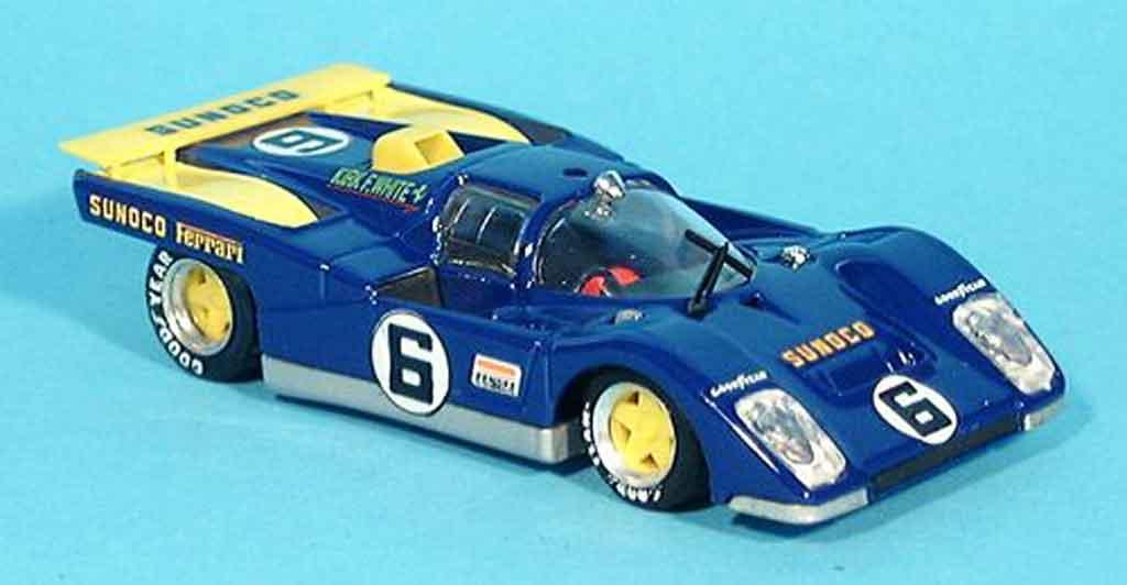 Ferrari 512 M 1/43 Brumm no.6 daytona 1971 miniature