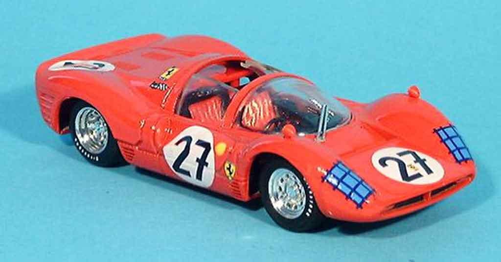 Ferrari 330 P3 1/43 Brumm spyder le mans ginther 1966 miniature