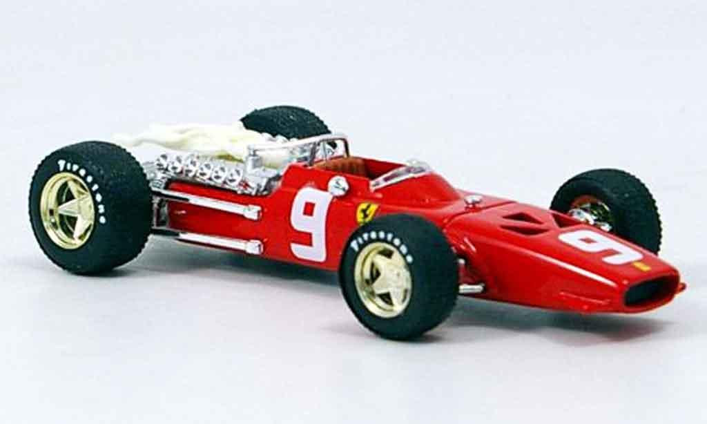 Ferrari 312 F1 1/43 Brumm c. amon 1968 miniature