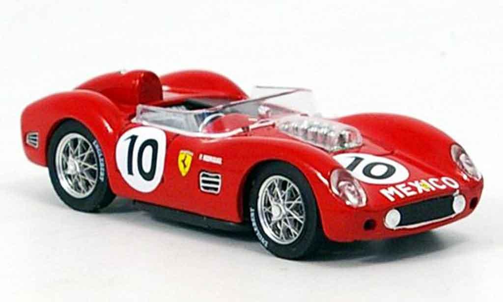 Ferrari F1 1/43 Brumm testa rossa p. rodriguez 1959 miniature