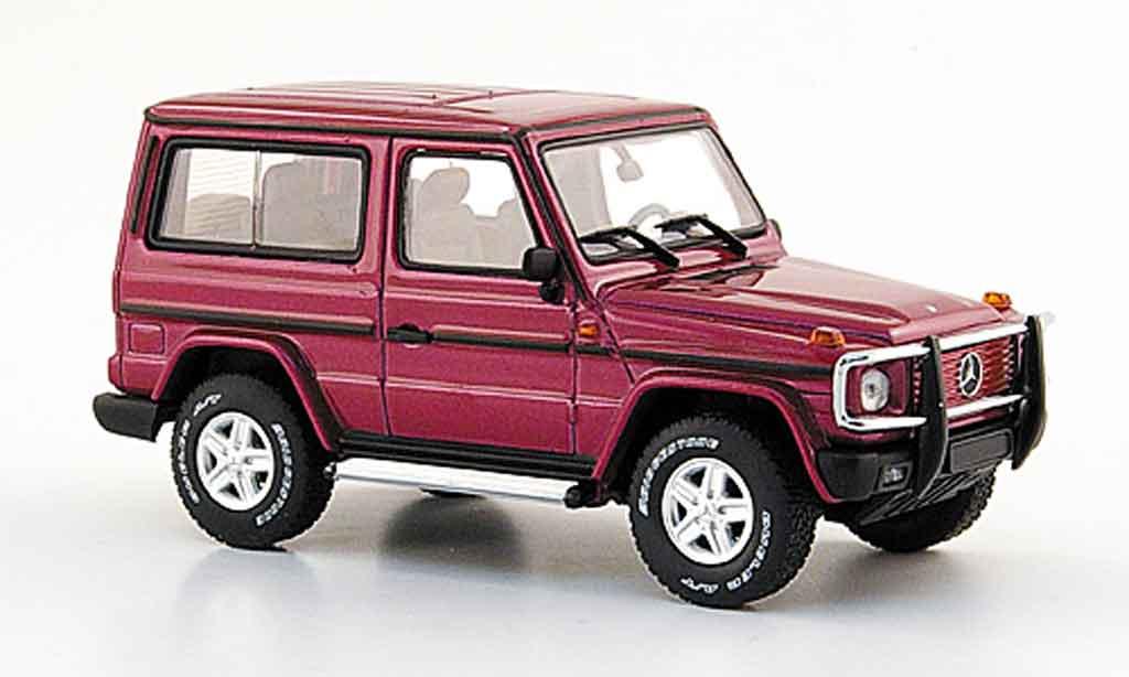 Mercedes Classe G 1/43 Autoart lila SWB 3 Turer miniature