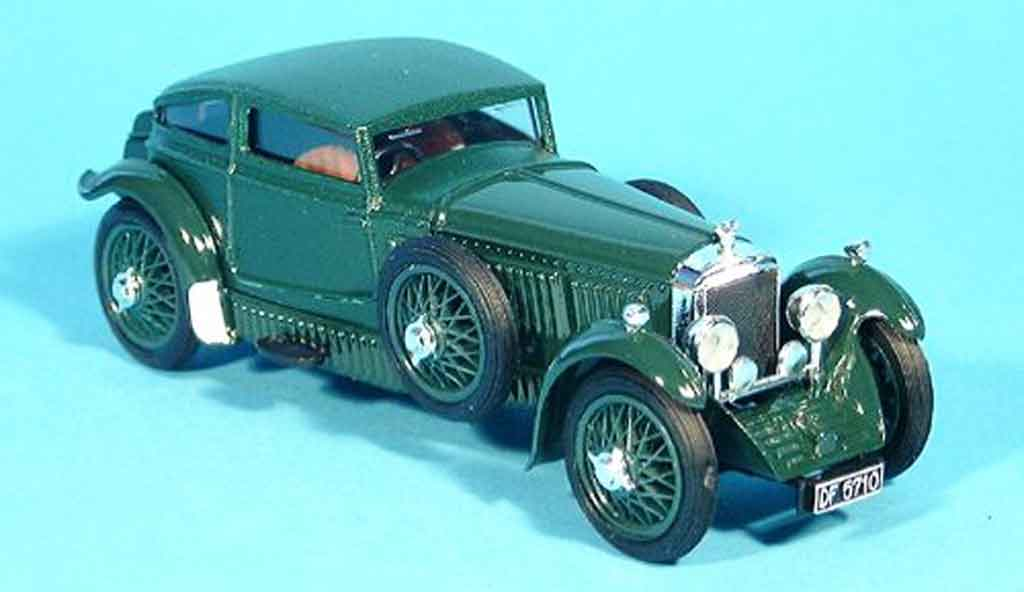 Bentley Speed 6 1/43 Brumm Barnato grun 1928