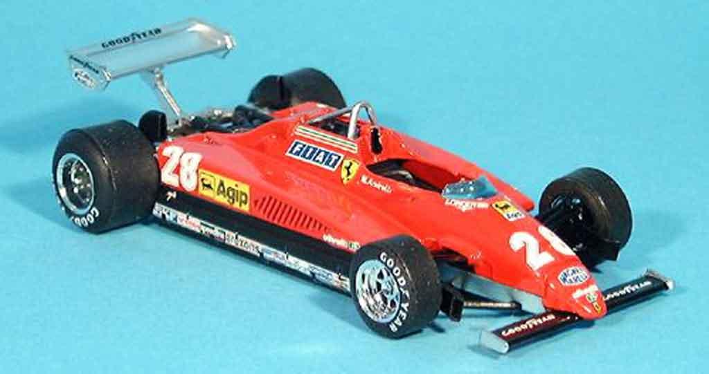 Ferrari 126 1982 1/43 Brumm C2 no.28 m.andretti gp monza miniature