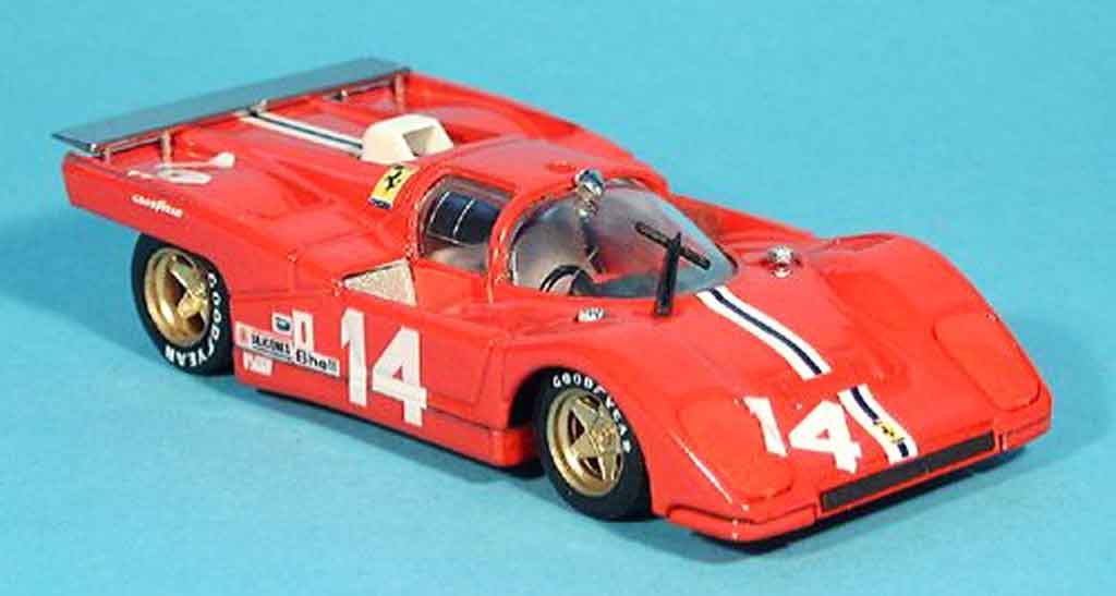 Ferrari 512 M 1/43 Brumm posey bucknum watkins glen 1971 diecast