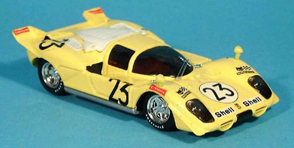 Ferrari 512 S 1/43 Brumm 1000 km spa bell de fierlant 1970 modellino in miniatura