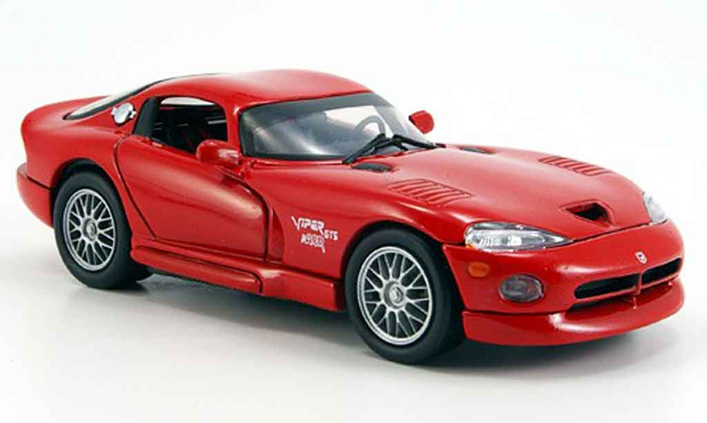 Dodge Viper GTS R 1/43 Eagle Coupe diecast