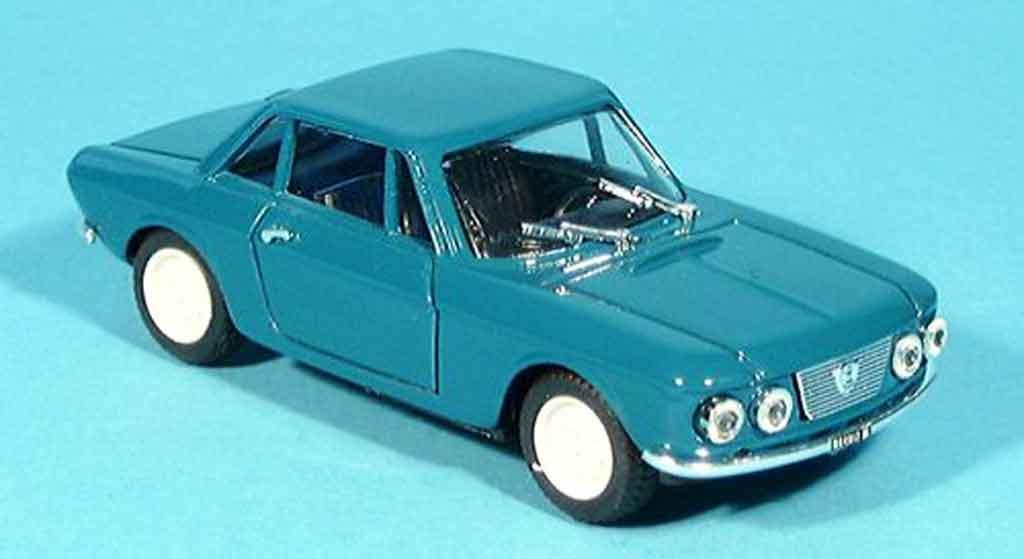 Lancia Fulvia 1965 1/43 Progetto coupe bleu 1965 diecast