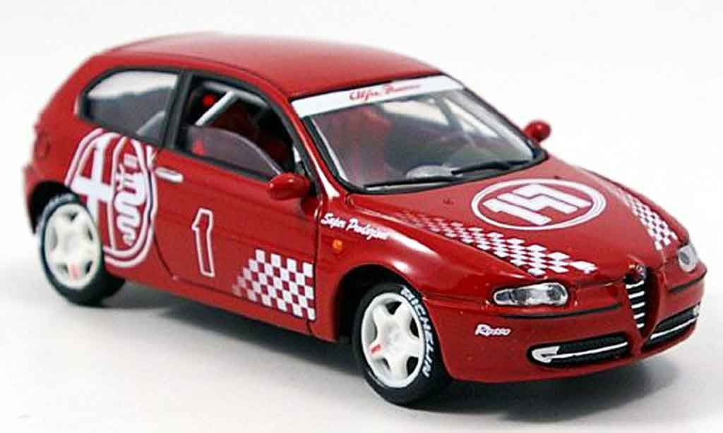 Alfa Romeo 147 1/43 Solido racing 2001 diecast model cars