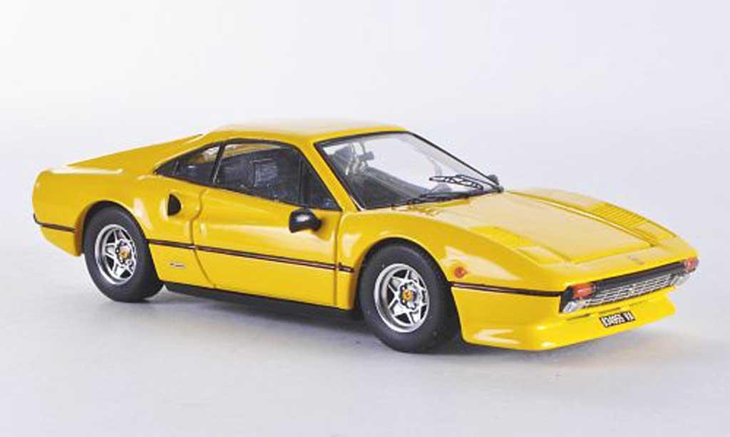 Ferrari 308 GTB 1/43 Best jaune miniature
