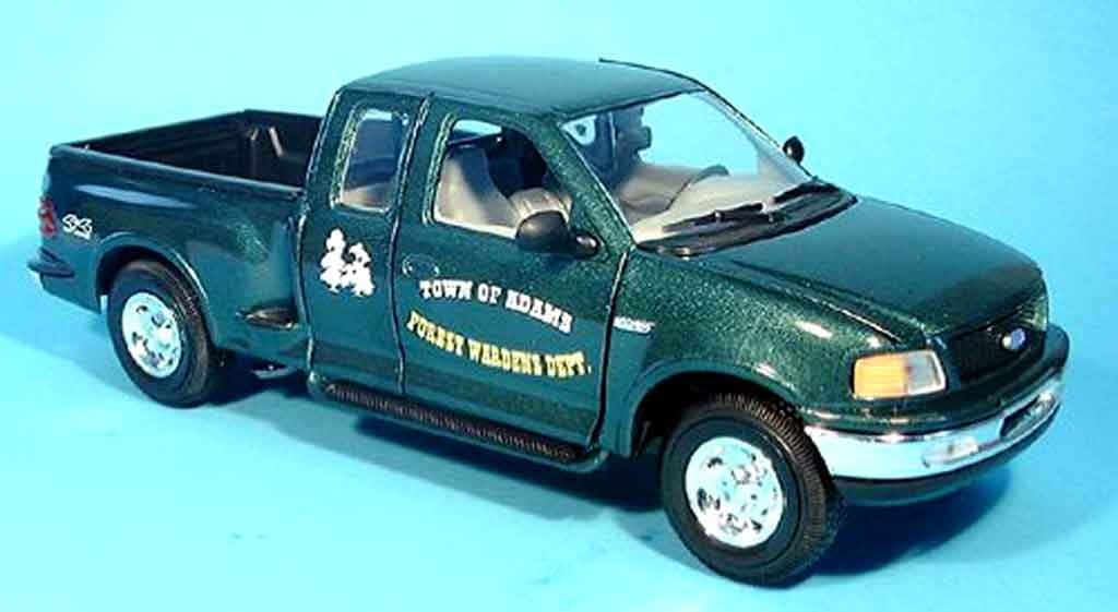 Ford F 150 1/18 Solido forest verte miniature