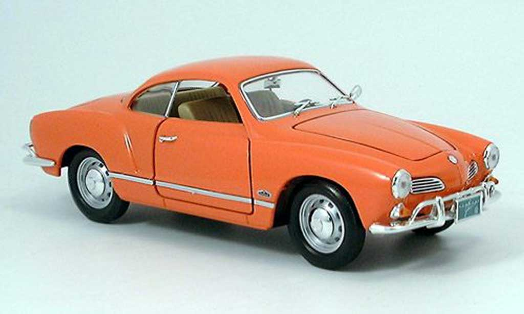 Volkswagen Karmann 1/18 Yat Ming Ghia orange 1966 miniature