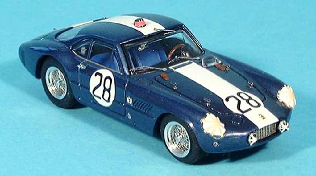Ferrari 250 GT 1962 1/43 Bang sebring hugus reed no. 28 miniature