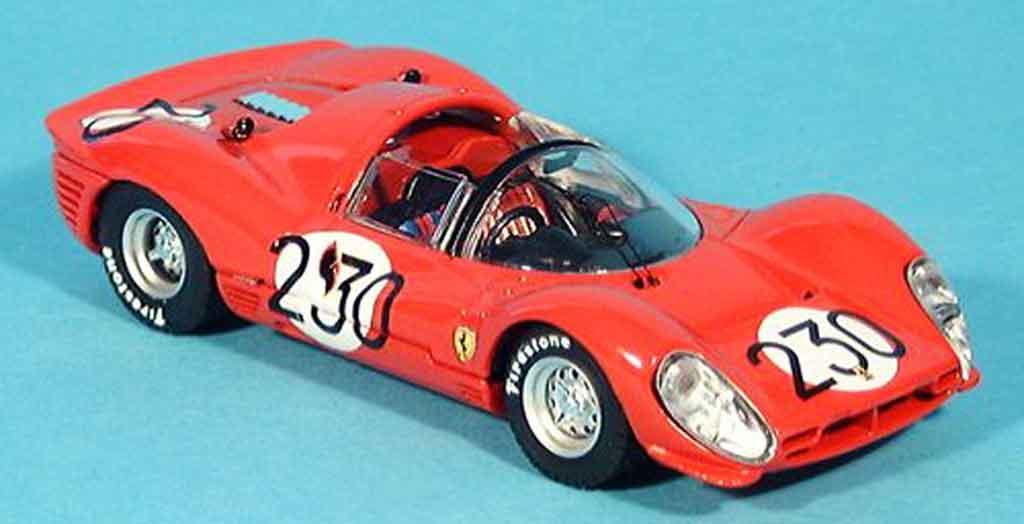 Ferrari 330 P3 1/43 Bang spider bandini vaccarella no. 230 1966 miniature