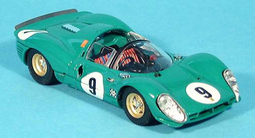 Ferrari 330 P3 1/43 Bang spider 1.000 km di parigi piper siffert 1968 miniature
