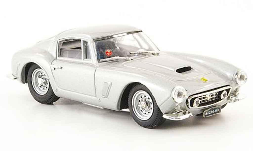 Ferrari 250 GT 1961 1/43 Bang swb grigia metallisee miniatura