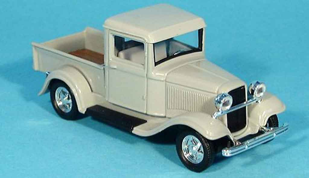 Ford 1934 1/43 Yat Ming Pick Up grey diecast model cars