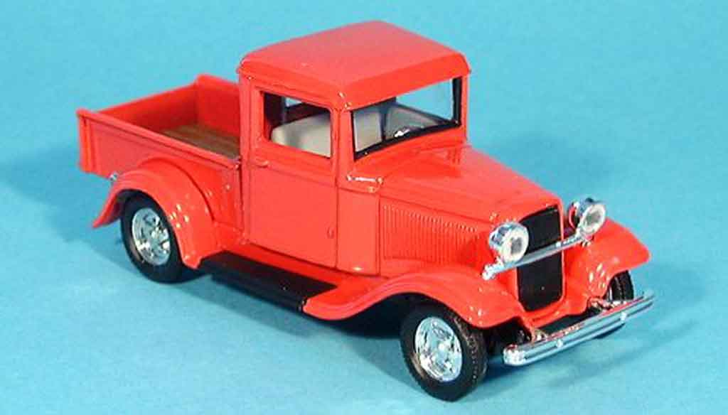 Ford 1934 1/43 Yat Ming Pick up red diecast model cars