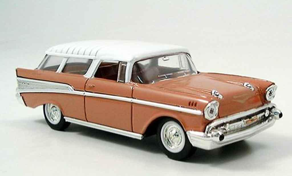 Chevrolet Nomad 1/43 Yat Ming pink 1957 miniature
